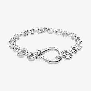 🍓Pandora Chunky Infinity Knot Chain Bracelet